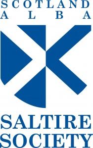 Saltire SCOTLAND ALBA LOGO BLUE