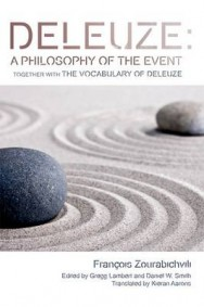 Deleuze: a Philosophy of the Event: Together with the Vocabulary of Deleuze image