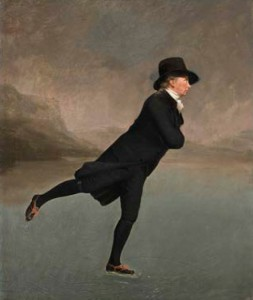 Sir Henry Raeburn: Reverend Robert Walker Skating on Duddingston Loch, about 1795