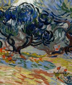 Vincent Van Gogh: Olive Trees, 1889