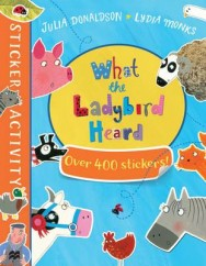 The What the Ladybird Heard Sticker Book image