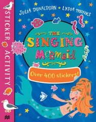 The Singing Mermaid Sticker Book image