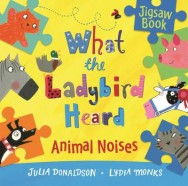 What the Ladybird Heard: Animal Noises Jigsaw Book image