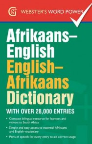 Afrikaans-English, English-Afrikaans Dictionary: With Over 28,000 Entries image