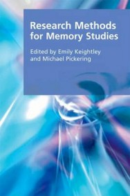 Research Methods for Memory Studies image