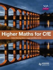 Higher Maths for CFE: the Textbook image