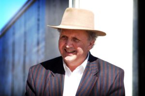 Alexander McCall Smith in Botswana. Picture by Chris Watt.