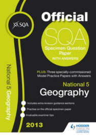National 5 Geography And Model Papers image