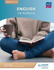 Higher English for CfE: the Textbook image