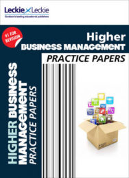 CFE Higher Business Management Practice Papers for SQA Exams image