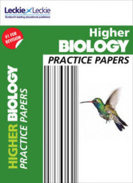 CFE Higher Biology Practice Papers for SQA Exams image