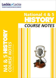 National 4/5 History Course Notes image