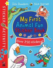 My First Animal Fun Sticker Book image