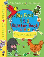 My First 123 Sticker Book image