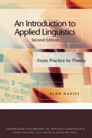 An Introduction to Applied Linguistics: From Practice to Theory image