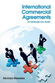 International Commercial Agreements: An Edinburgh Law Guide image