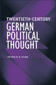 Twentieth-century German Political Thought image