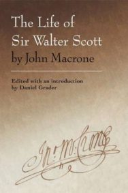 The Life of Sir Walter Scott by John Macrone image