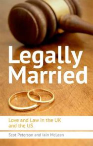 Legally Married: The Politics of Marriage Across Time, the Atlantic and Gender image