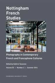 Photography in Contemporary French and Francophone Cultures image