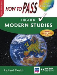 How To Pass Higher Modern Studies image