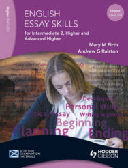 Essay Skills For Intermediate 2 Higher And Advanced Higher English image