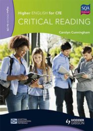 Higher English for CfE: Critical Reading image