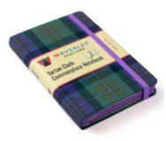 Isle of Skye: Waverley Genuine Tartan Cloth Commonplace Notebook (9cm x 14cm) image