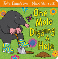 One Mole Digging A Hole image
