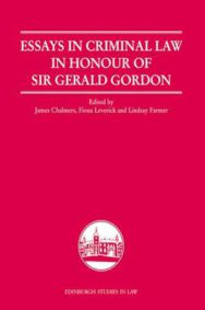 Essays in Criminal Law in Honour of Sir Gerald Gordon image
