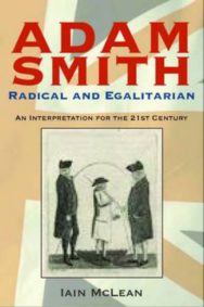 Adam Smith, Radical and Egalitarian: An Interpretation for the 21st Century image