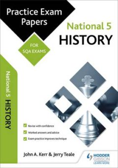 National 5 History: Practice Papers for SQA Exams image
