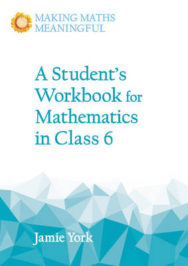 A Student's Workbook for Mathematics in Class 6 image