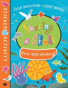 Sharing a Shell Sticker Book image
