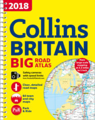2018 Collins Big Road Atlas Britain image