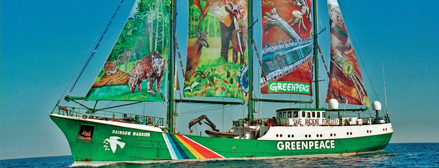 Greenpeace: Aboard The Rainbow Warrior