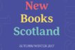 Scottish Books To Look Out For In Autumn/Winter 2017