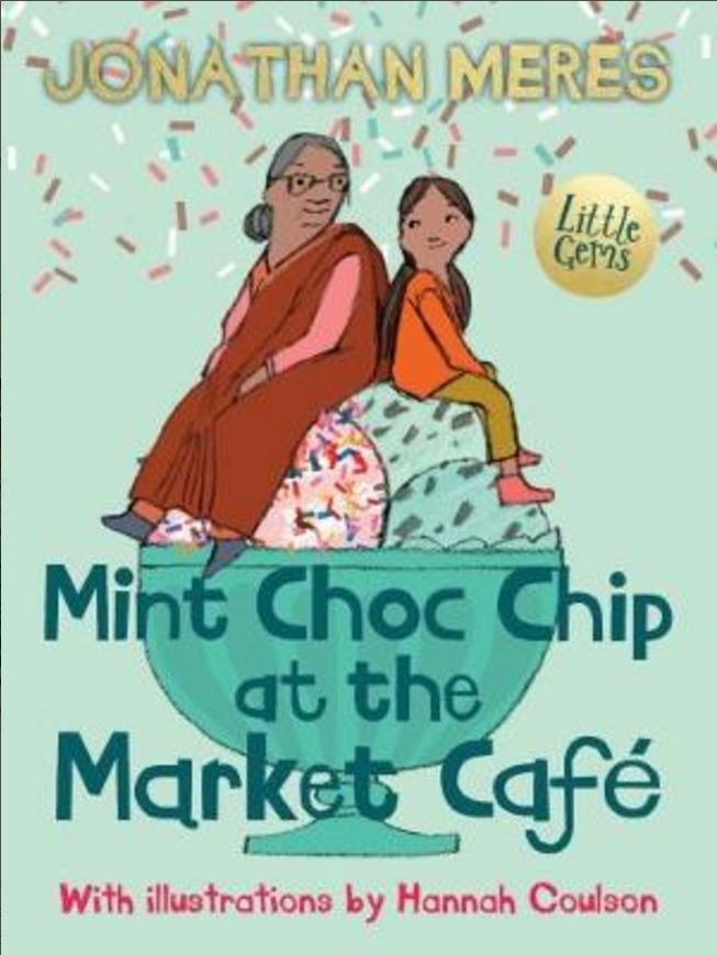 Mint Choc Chip at the Market Café