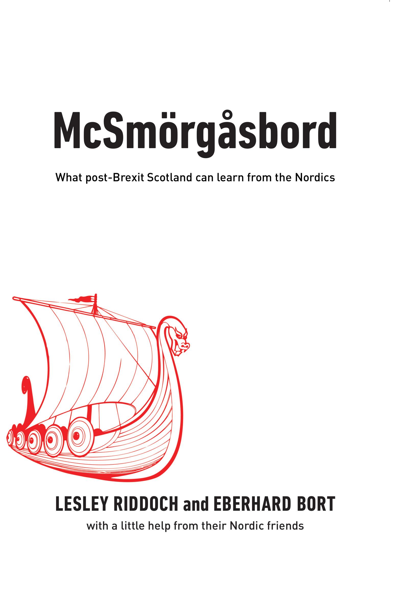 McSmörgåsbord: Nordic Post-Brexit Learnings For Scotland