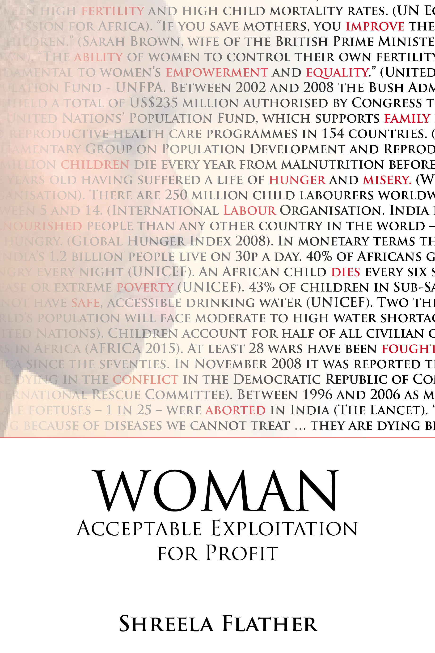 Woman: Acceptable Exploitation for Profit