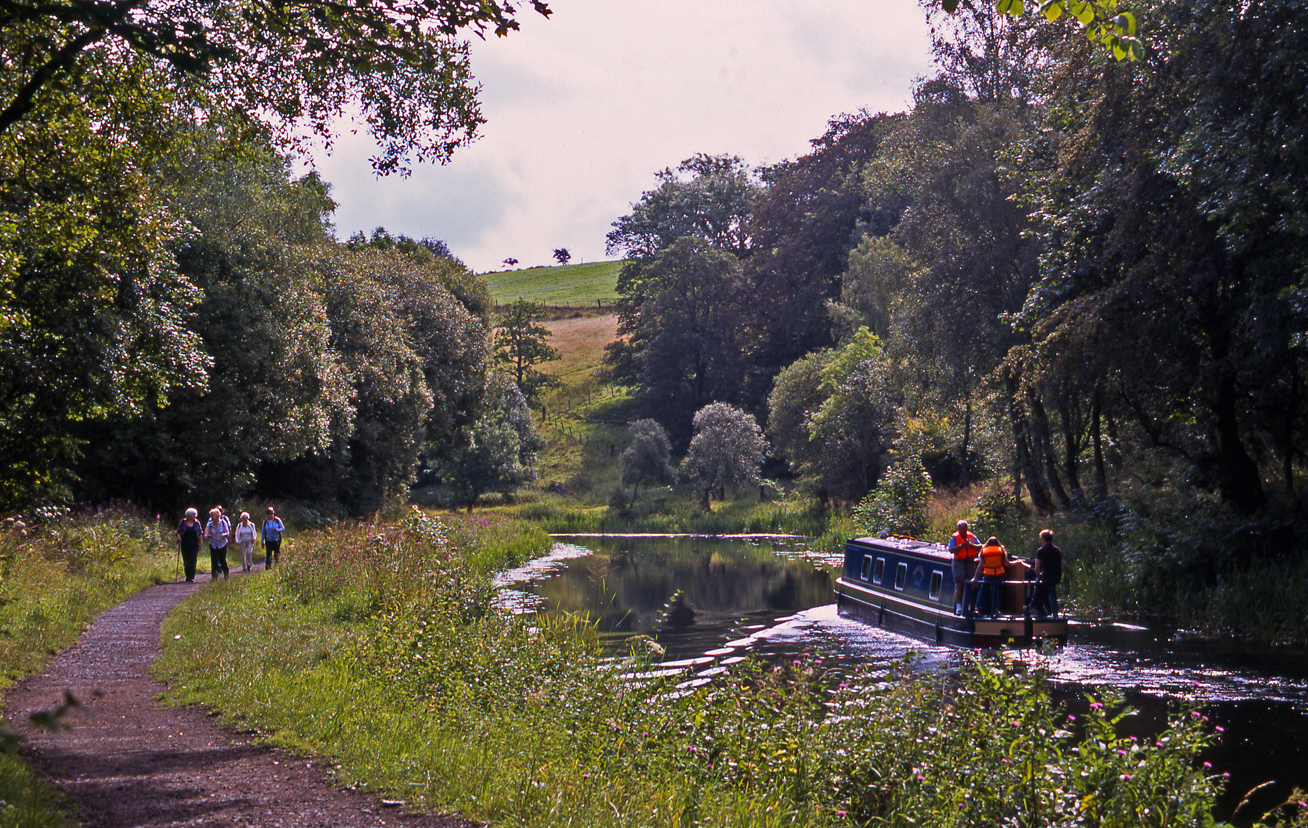 The Forth and Clyde Canal between Kilsyth and Twechar - Hamish Brown