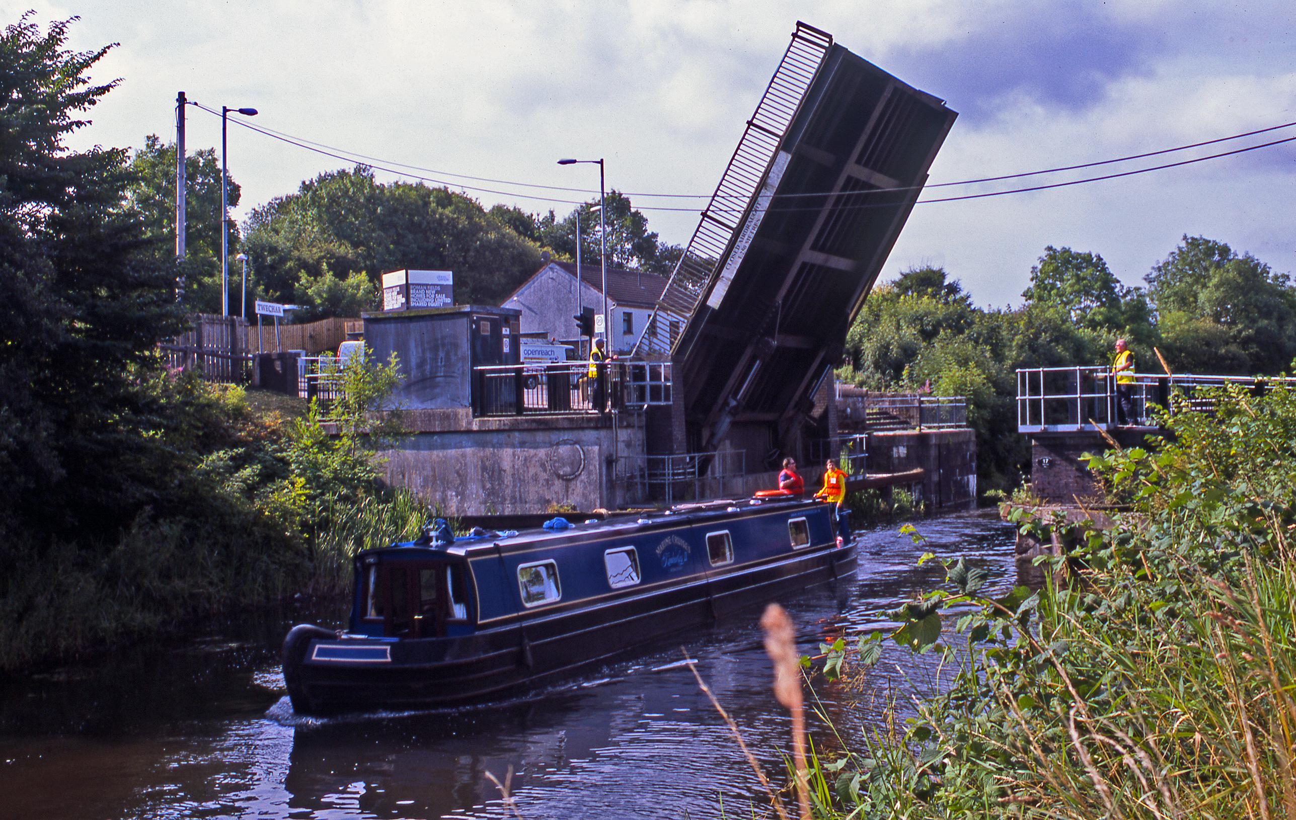 Twechar Lifting Bridge on the Forth and Clyde Canal - Hamish Brown