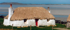 A Black House on North Uist - Bob Orrell