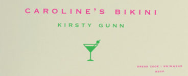 David Robinson Reviews: Kirsty Gunn's new novel Caroline's Bikini