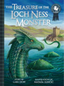 The Treasure of the Loch Ness Monster by Lari Don; Illustrated by Nataša Ilinčić