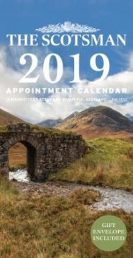 12 Magnificent Scenes of Beautiful Scotland The Scotsman Wall Calendar 2020