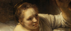 Rembrandt Woman in Bed