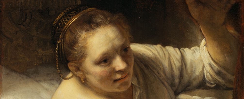 Lesbian lovers by rembrandt