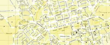 Edinburgh on Foot: apps, maps and books