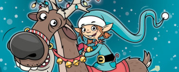 Elma the Elf and the Tinsel-Tastic Sled Zeppelin